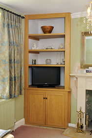 Built-In Cupboard and Shelving Unit